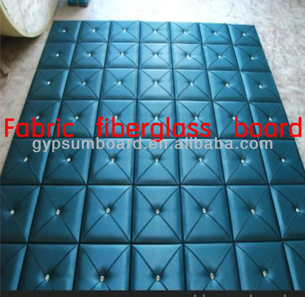 decorative leather wall panels /Bedroom decorative leather wall panel/ fiberglass board