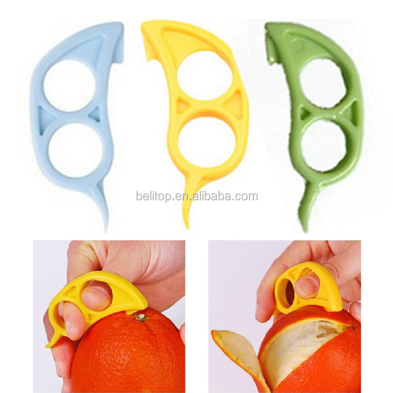 Kitchen Gadgets Cooking Tools Peeler Parer Finger Type Open <strong>Orange</strong> Peel <strong>Orange</strong> Device <strong>orange</strong> peeler
