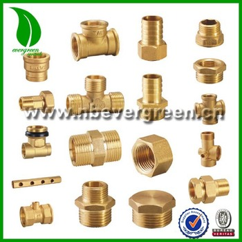 Brass compression fittings buy brass compression fitting for Copper water pipe connectors