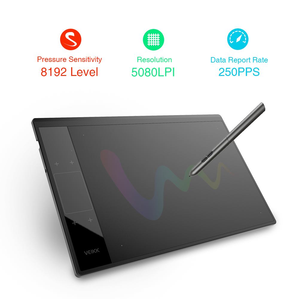 New digital pen tablet graphic pc drawing tablet A30 Creative graphic tablets for illustrators