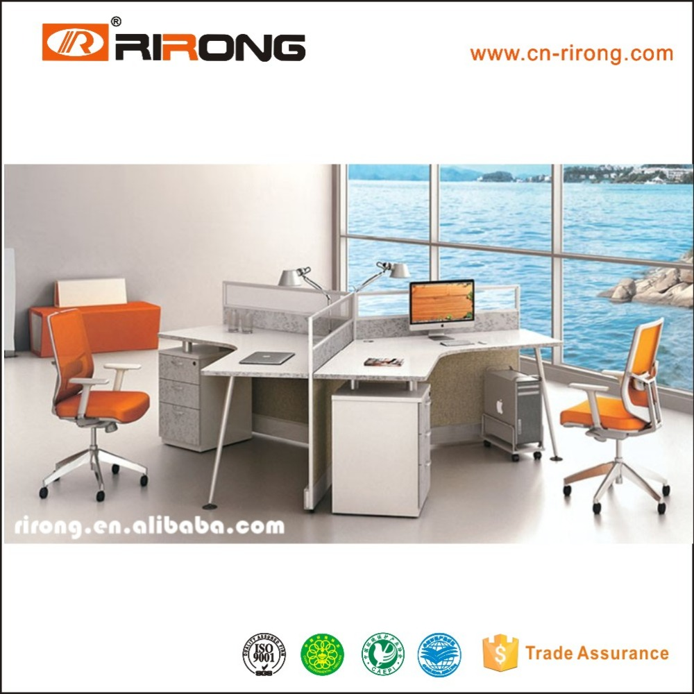 wholesale office cubicles prices 3 person workstation RR-LX20-13B