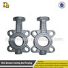 China produces high quality spiral coil butterfly valve PN10 DN125