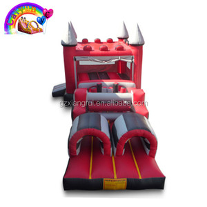 Long Bouncer Combo Inflatable Castle For Kids