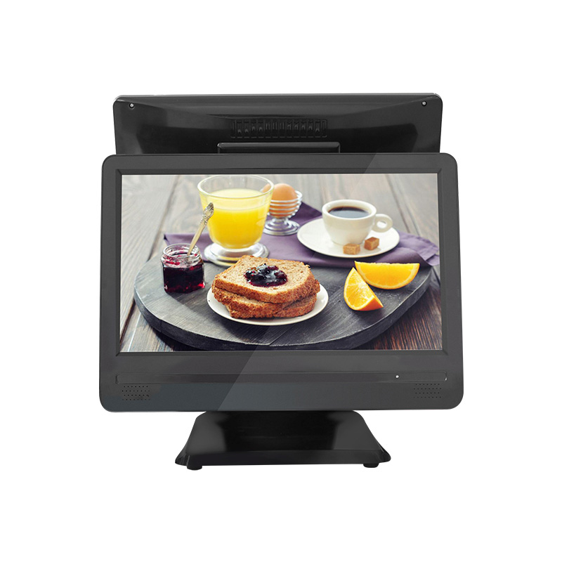 Cheap price Restaurant software POS 15.6 inch flat touch Cash Register