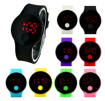 Guangdong Sport Siliconen Horloge Led-verlichting Omege Horloges ...