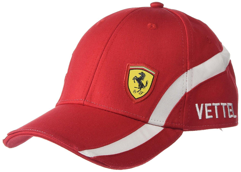 38a6562a251e3 Get Quotations · Ferrari Sebastian Vettel  5 Driver Hat