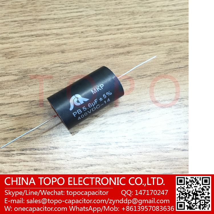 6.8UF 100V 5% Axial Thin Film 685J100V Capacitor Fever capacitor New Original