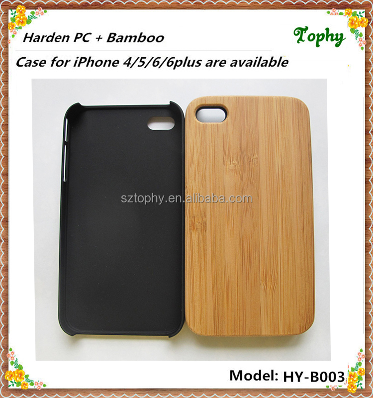High Quality Art Design Custom high quality bamboo case cover for i phone5 mobile phone accessories made in china wood