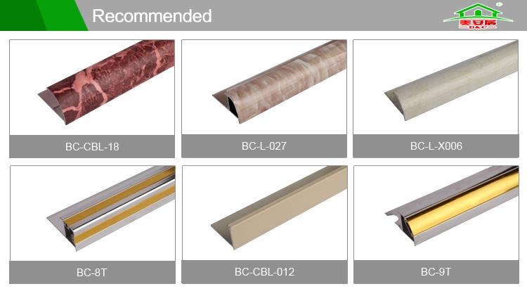 2016 Ceramic Wall Tiles Laminate Flooring Aluminum Transition Strips