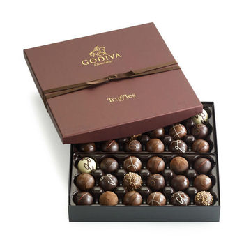Luxury Tiered Gift Box - Truffle Lovers, 40 pcs for ... |Luxury Chocolate Box