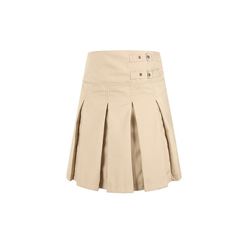 2bd6c7189d1ba3 Custom Girls School Uniform Khaki Pleated Skirts, View girl uniform ...