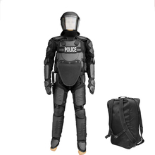 Politie body armor anti rel pak shield helm baton set anti rel apparatuur
