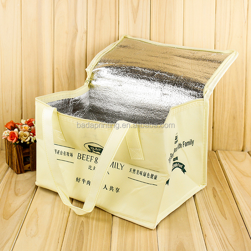 portable 4 cans beer cooler bag cool carry cooler bag food delivery cooler bag