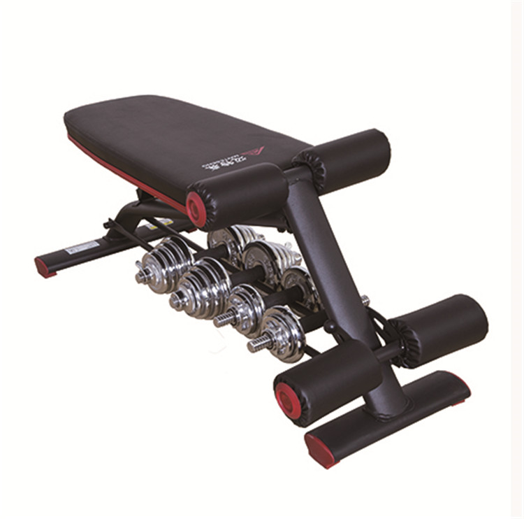 Training Exercise Sport Gym Fitness Equipment Multi functional Dumbbells Bench