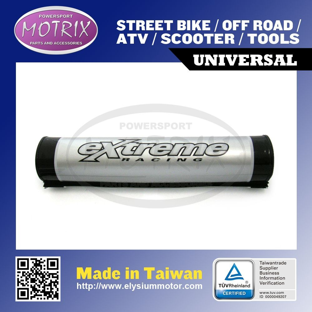 HANDLEBAR PAD with extreme logo, off road safety chest protector