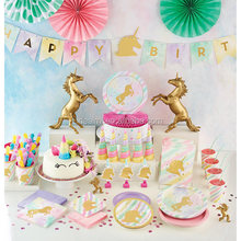 DEMI Fantasy Unicorn Tableware Party Supplies Birthday Decoration Unicorn Party Decorations