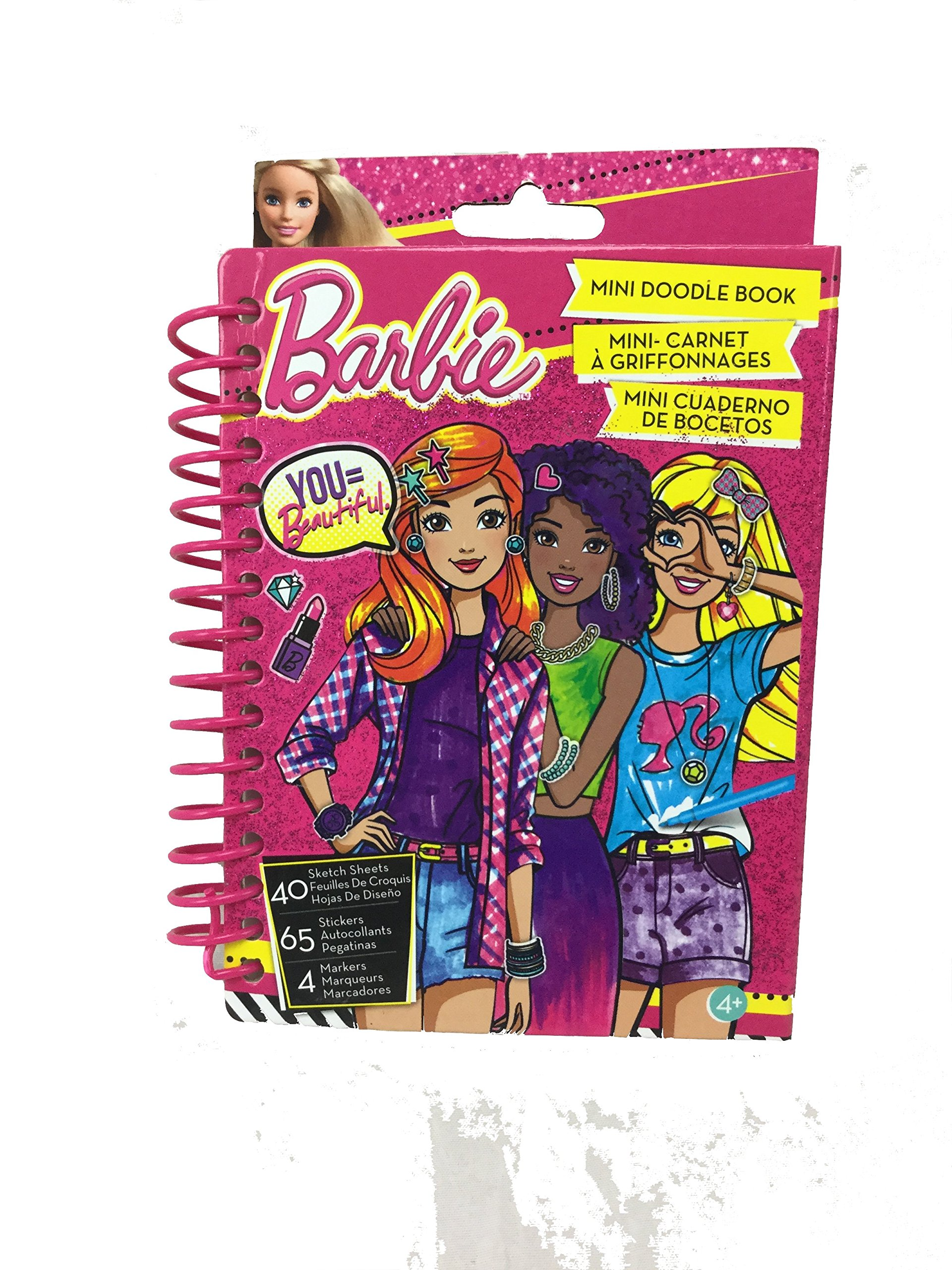 Buy Barbie Mini Fashion Design Sketch Book By Fashion Angels Project Runway In Cheap Price On M Alibaba Com