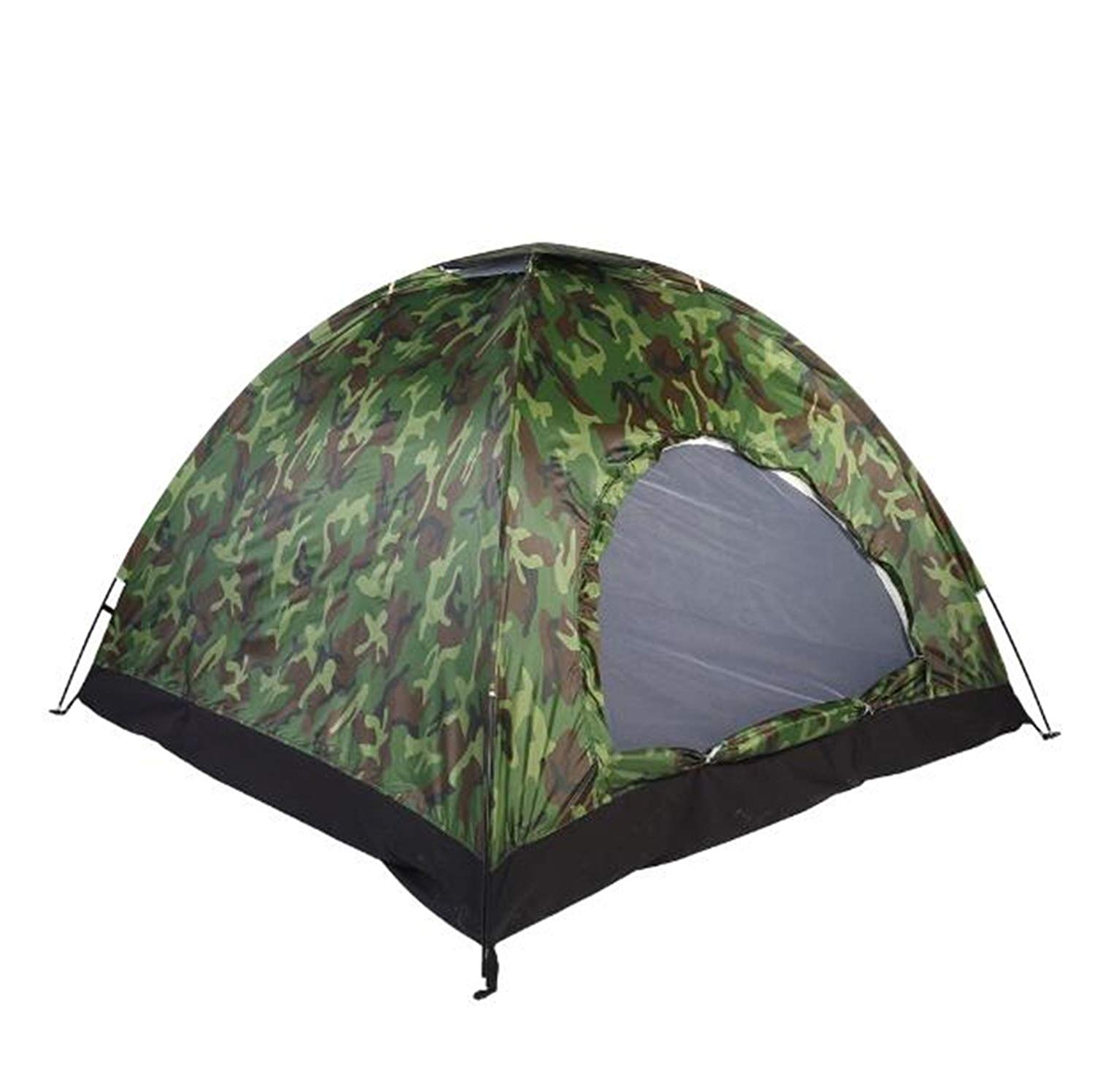 Nutsima 1-4 Person Portable Outdoor Camping Camouflage Tent Outdoor Camping Recreation Double Couple Camping Tent Ultraviolet-proof Tent