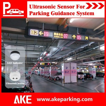 2016 Ake Parking Lot System With Parking Guidance System And ...