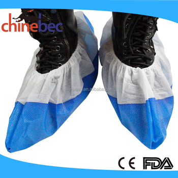 Hot Selling Medical Consumable Disposable Washable Nonwoven Shoe Covers/Boot Covers