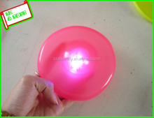 promotion flashing plastic light up frisbee