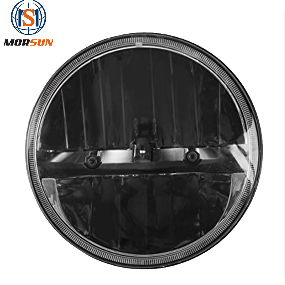 7inch Round Headlight Mounting Ring For Harley Touring Products Hot Sale Home Black 7 Motorcycle Led Headlight High/low Beam
