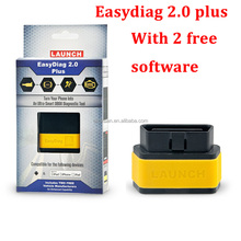 Lowest Price 2017 Original Launch X431 EasyDiag 2.0 Plus OBDII Easydiag 2.0 Universal Diagnostic Scanner with 2 Free Software