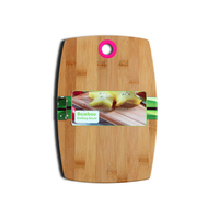 2019 New product best organic bamboo cutting chopping board blocks with silicone
