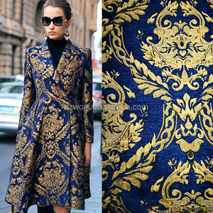 Chinese DIY dress fashional chenille brocade heavy winter oriental brocade fabric