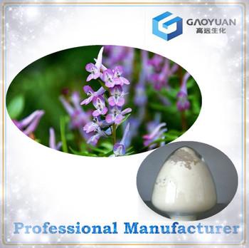 Pain relief product natural Corydalis yanhusuo extract powder, 95%-98%,Tetrahydropalmatine