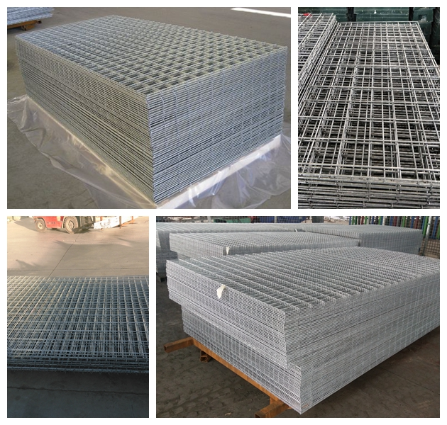 Factory High Quality Welded Iron Wire Mesh Panel for Sale
