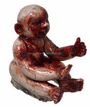 Halloween Creepy Bloody Props Latex Horror <span class=keywords><strong>Baby</strong></span> Prop Spookhuis Decoratie