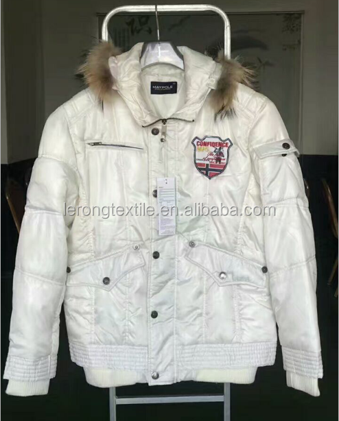 Apparel Stocklots korea branded lady Down Padded Jacket clothes stocklots