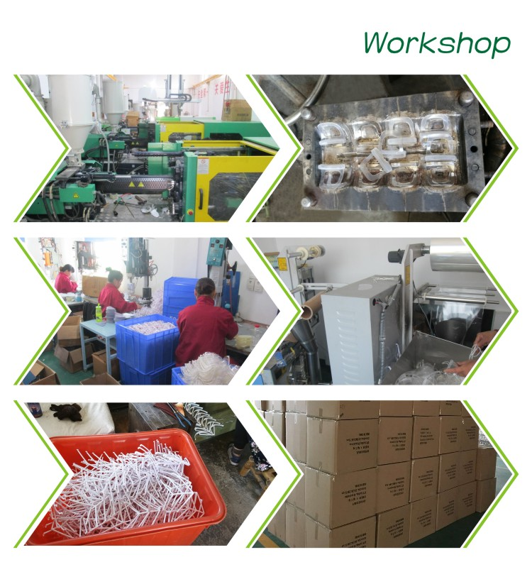 Chinese factory biodegradable plastic disposable Folded gloves with high quality and best price