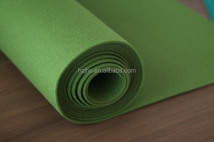 Thailand wholesale custom polyester needle punch non woven fabric manufacturer for clothing