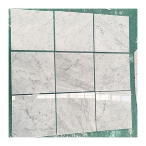 China factory marble white discontinued 12x12 carrara marble tile