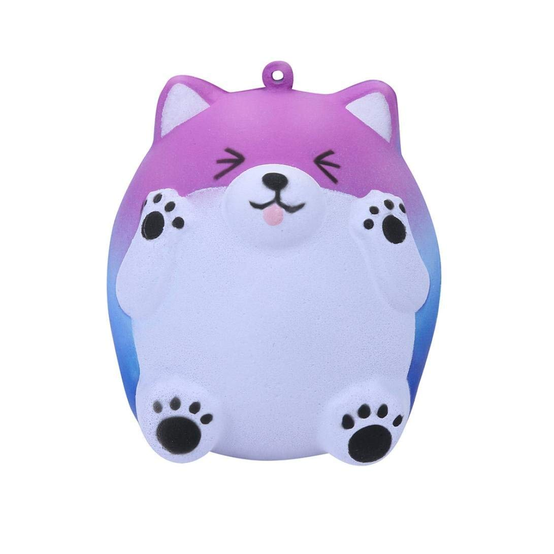 Lavany Squishies Jumbo Bear Toys,Cute Animals Squishy Slow Rising Jumbo Squishies Toy Scented Squeeze Toy for Adult Party (Galaxy)