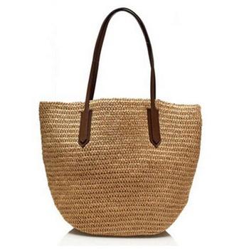 60266a81642f Оптовая продажа Новые Горячая Распродажа женские летние пляжные сумки  большие соломенные сумки соломенные пляжные сумки Соломенная