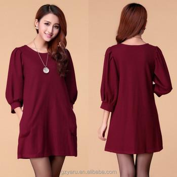 Ladies New Plus Size Dress Cotton Kurti Neck Designs Buy Cotton