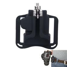 Camera Quick Strap Holster Hanger Waist Belt Buckle Button Mount for Canon 600D 700D 650D for Nikon D5300 D7000 D800 Free Ship
