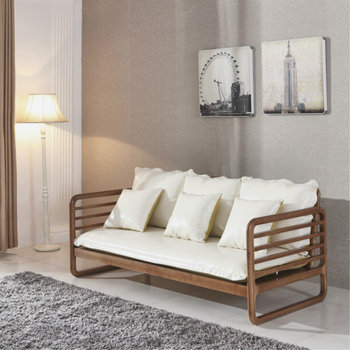 simple wooden sofa sets for living room