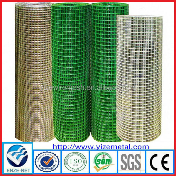 pvc ciated & galvanized square welded wire mesh( Anping Factory, Gold Supplier )
