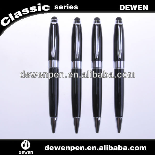 2014 new design high quality Dewen touch pen for ipod touch