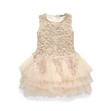 Kids font b Fancy b font Baby Girl clothes Summer font b Dresses b font For