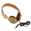 hot sale & high quality New Style wood headphone cool in-ear stereo wood earphone&ampheadphone for wholesale