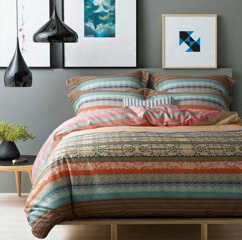 New 100 Cotton Ikea Casa Boho Bedding Set Colorful