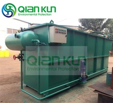 Dissolved Air Flotation Waste Water Treatment