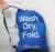 Commercial Drawstring Heavy Duty Folding Nylon dirty portable laundry wash bag