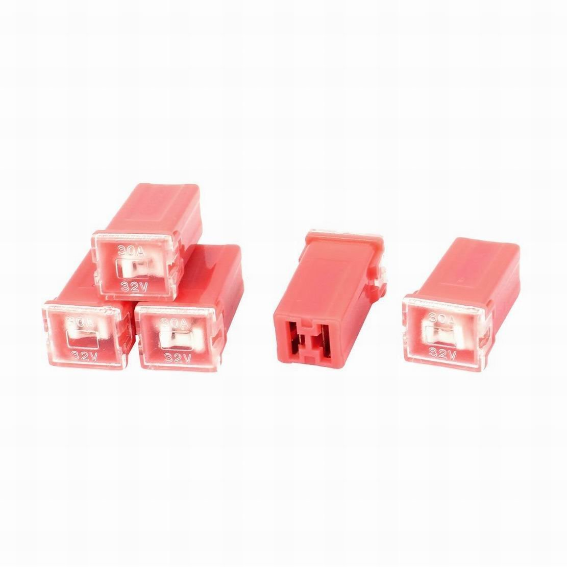 Cheap Auto Fuse 32v 30a Find Deals On Line At Fire Car Box Get Quotations Houseuse Straight Female Terminals Link Pal Red 5 Pcs