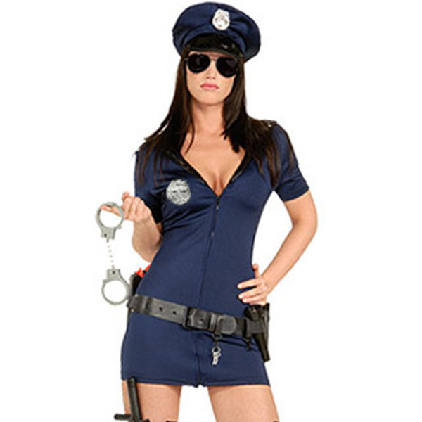 Costume police romper sexy congratulate, the